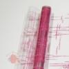 Пленка Штрихи розовые, 190 г