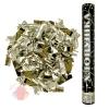 Пневмохлопушка Металлизированное конфетти 16/40 см, Золото