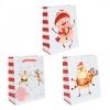 Подарочный пакет, ассорти, 12*15*5,5см (Новогодние персонажи )