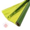 Полисилк двухцветный зеленый+салатовый, 1 х 20 м