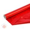 Полисилк металлизированный красный  0,5 х 10 м