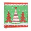 Салфетки бумажные Новогодняя елка (набор 20 шт), 33*33 см