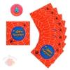 Салфетки бумажные С днем рождения паутина 33 × 33  (20 шт.)