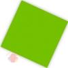 Салфетки двухслойные Делюкс Лайм 25*25 см (20 шт.)