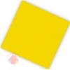 Салфетки двухслойные Делюкс Желтые 25*25 см (20 шт.)