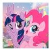 """Салфетки """"Моя маленькая Пони - 2"""" / Pony & Friends 33*33 см  (20 шт.)"""