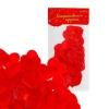 Сердечки декоративные набор 25 шт. 5 см цвет красный