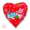 Сердце Милые котята Sweet cats 18/48 см