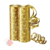 Серпантин фольгированный Голография Золотой 7 мм*4 м