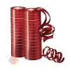 Серпантин фольгированный Металл Красный 7 мм*4 м