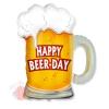 Шар (14''/36 см) Мини-фигура, Пиво в кружке, 1 шт.