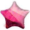 Шар (19''/48 см) Звезда, Диагонали, Фуше, 1 шт.