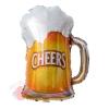 Шар (29''/74 см) Фигура, Пиво в кружке, 1 шт.