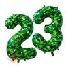 Шар (34''/86 см) Цифра, 23 Февраля, Камуфляж, в упаковке 2 шт.