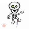 Шар фольга Скелет танцующий 35 АГ