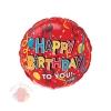 Шар фольгированный Ленты С днем рождения BD Ribbon