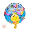 Шар фольгированный С днем рождения шарики