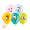 Шар с рисунком 14 Hello Kitty 3 цвета (25 шт.)