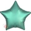 Шар Звезда Бирюза (Тиффани) Сатин Люкс в упаковке / Satin Luxe Jade Star S15