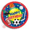 Спорт С днем рождения Sport Buff Birthday