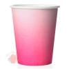 Стаканы (250 мл) Розовый, Градиент, 6 шт.