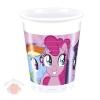 Стаканы пластиковые Моя маленькая Пони Rainbow Pony (8 шт.)