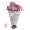 Сумочка для цветов Для тебя в этот день, 25 х 26,5 см