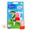 Свеча для торта цифра 2 Peppa Pig