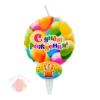 Свеча тортовая С Днем Рождения Воздушный шарик