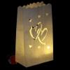 Светящийся Пакет ЛЮБОВЬ СЕРДЦА 26 Х 9 Х 15