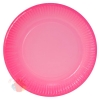 Тарелки (9''/23 см) Розовый, Градиент, 6 шт.