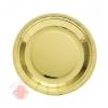 Тарелки (9''/23 см) Золото, 6 шт.