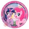 """Тарелки """"Моя маленькая Пони - 2"""" / Pony & Friends 23 см  (8 шт.)"""