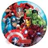 """Тарелки """"Мстители - 2"""" / Mighty Avengers  20 см  (8 шт.)"""