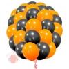 """Воздушные латексные шары """"Хэллоуин"""" без рисунка 25 штук"""