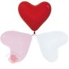 Воздушные шары Сердце Ассорти, Пастель / Assorted