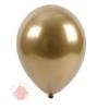 Воздушный Шар Хром Gold   (25 шт.)