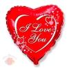Я тебя люблю сердца рядом с надписью Love hearts