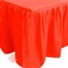 Юбка для стола Делюкс Красная 0,75*4 м
