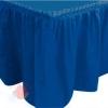 Юбка для стола Делюкс Синяя 0,75*4 м