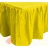 "Юбка для стола ""Делюкс"" Желтая"
