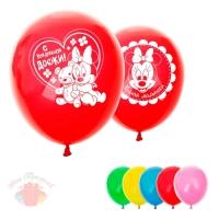 Воздушные шары 11 С рождением дочки, Минни Маус, Дисней Беби (25 шт.)