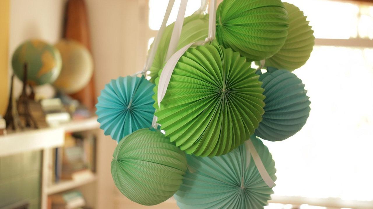 Как сделать китайские шарики